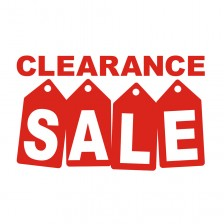 Clearance Sale & Ex-demo