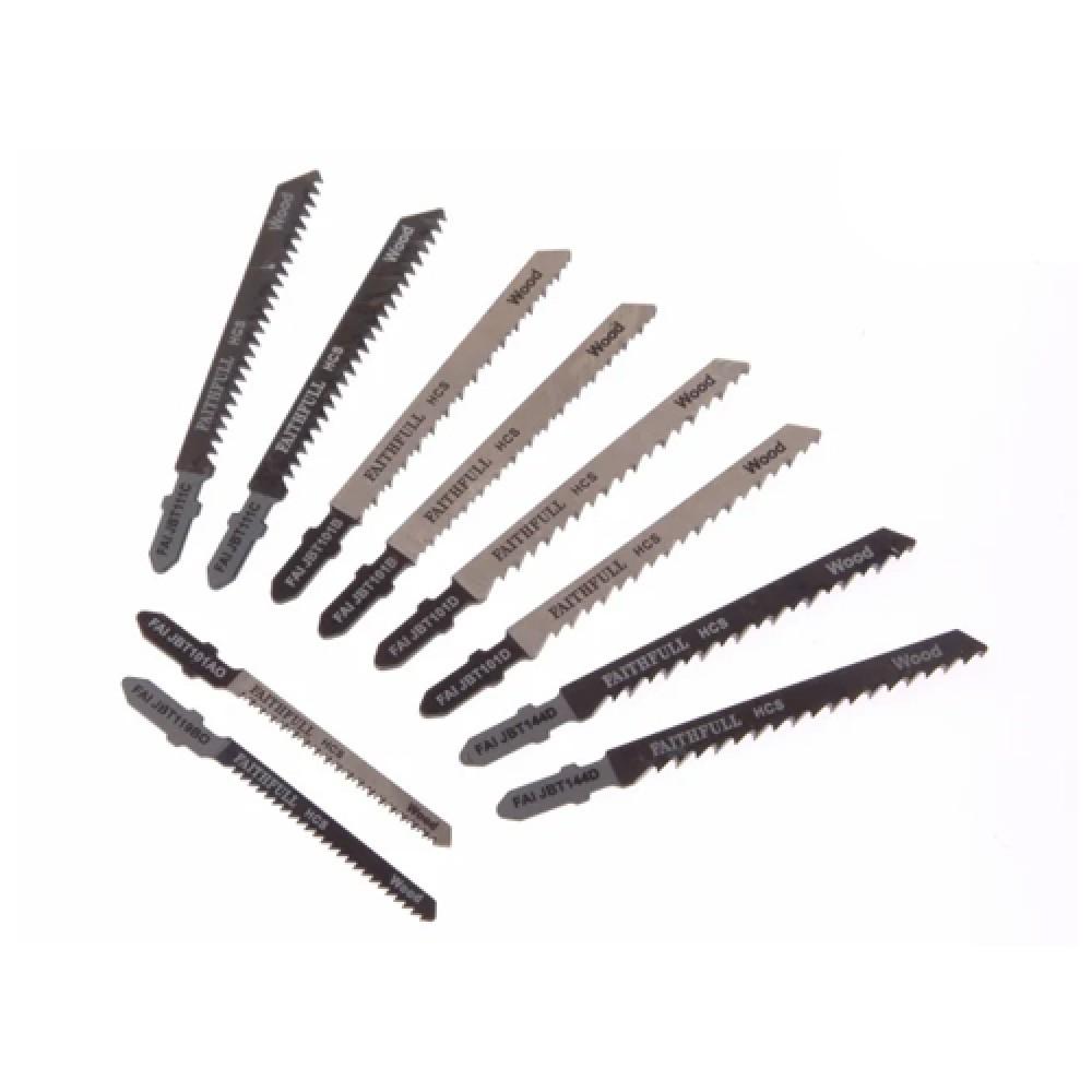 Jigsaw Blade - Set of 10 Assorted