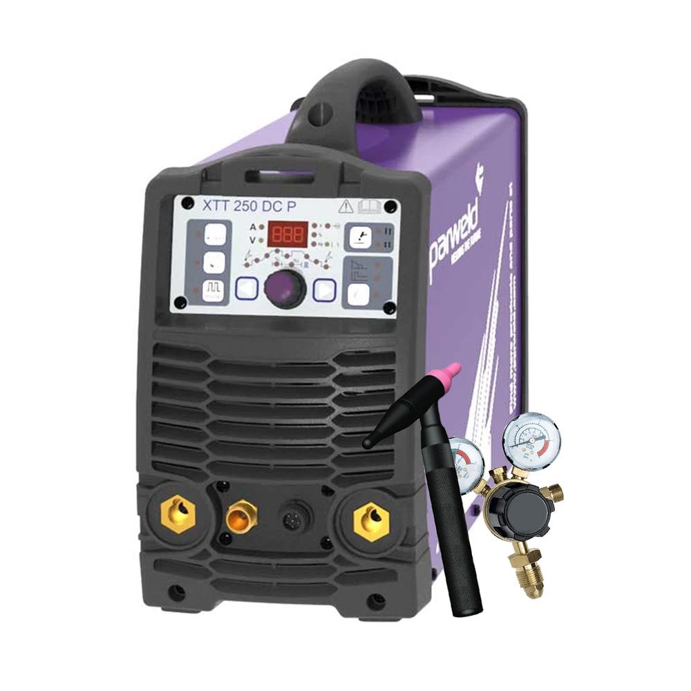 Parweld XTT250DCP with Torch & Regulator