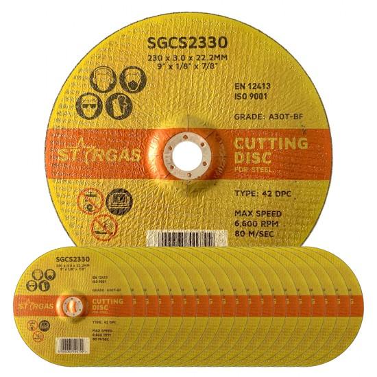 """Stargas 9"""" Steel Cutting Discs"""