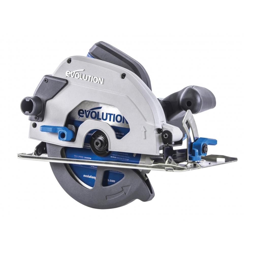 Evolution HTCS185CCSLL Industrial Circular Saw (1600W, 110V)