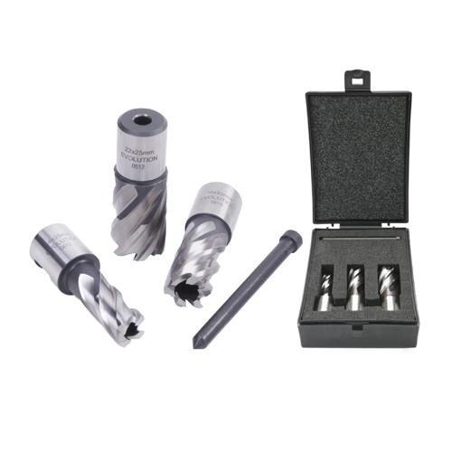 Evolution 3-piece 22mm Cutter Kit Short