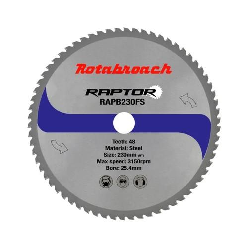 Rotabroach 355mm Steel Cutting Cermet Dry Cut Blade