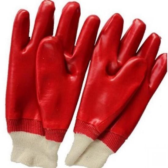 PVC Knit Wrist Glove - Size 9