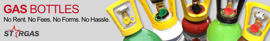Rent Free Gas Bottles